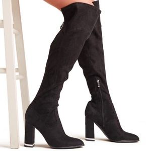 Marc Fisher Natier Over The Knee Boots. Brand New